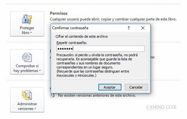 Cómo cifrar o proteger un archivo de Excel