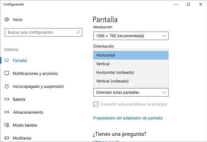 Cómo voltear la pantalla de mi laptop o PC