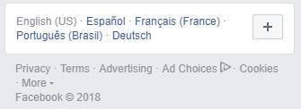 Cómo cambiar el idioma de Facebook
