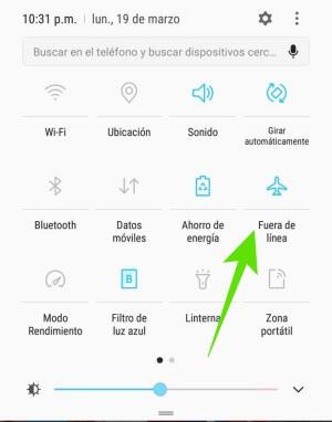 Mis datos móviles no se activan en Android