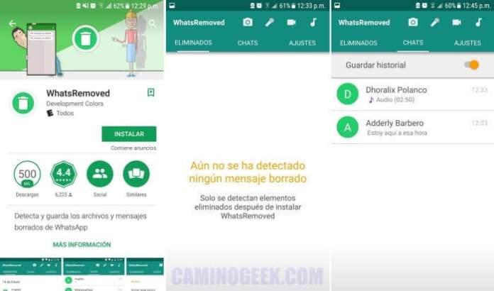 Cómo leer mensajes eliminados por el remitente en WhatsApp