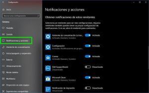 Cómo desactivar las notificaciones para una aplicación en Windows 10