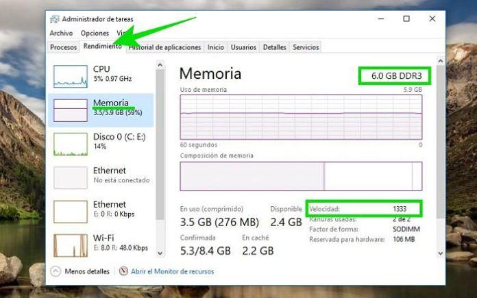 DDR3 o DDR4: Cómo saber qué tipo de memoria RAM tengo
