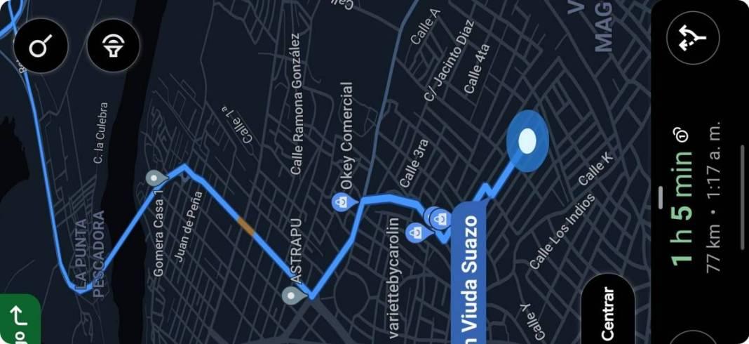 Habilitar el modo oscuro de Google Maps para la navegación