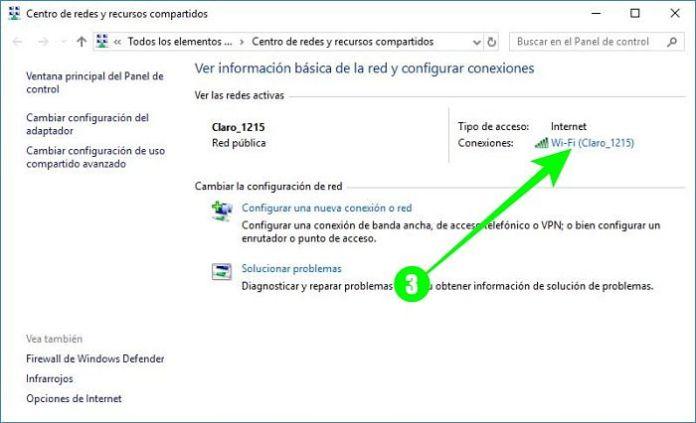 Cómo ver la contraseña del WiFi en Windows 10