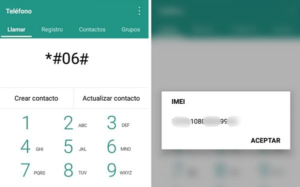 Consultar IMEI en Android y iPhone