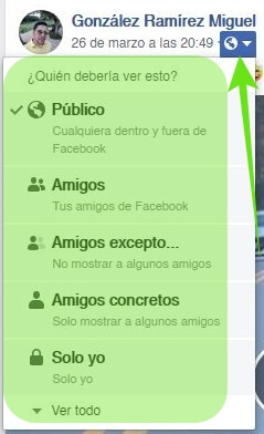 Privatizar el Facebook
