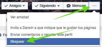 Bloquear personas en Facebook