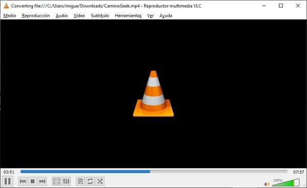 Convertir archivos de video o audio a otros formatos con VLC