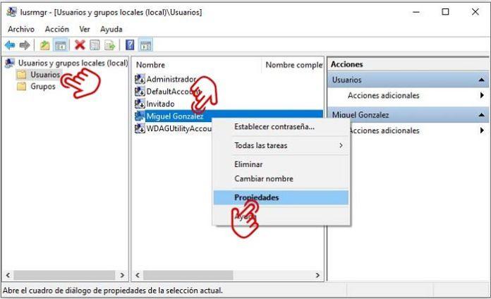 caducidad password Windows 10
