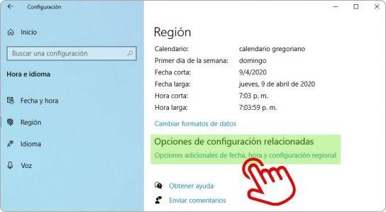 Cómo mostrar el día de la semana en la barra de tareas de Windows 10