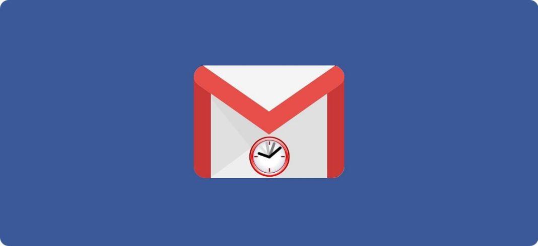 Programar envío de correo Gmail