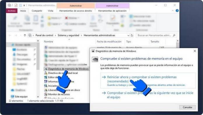 Recuperar archivos dañados en Windows 10