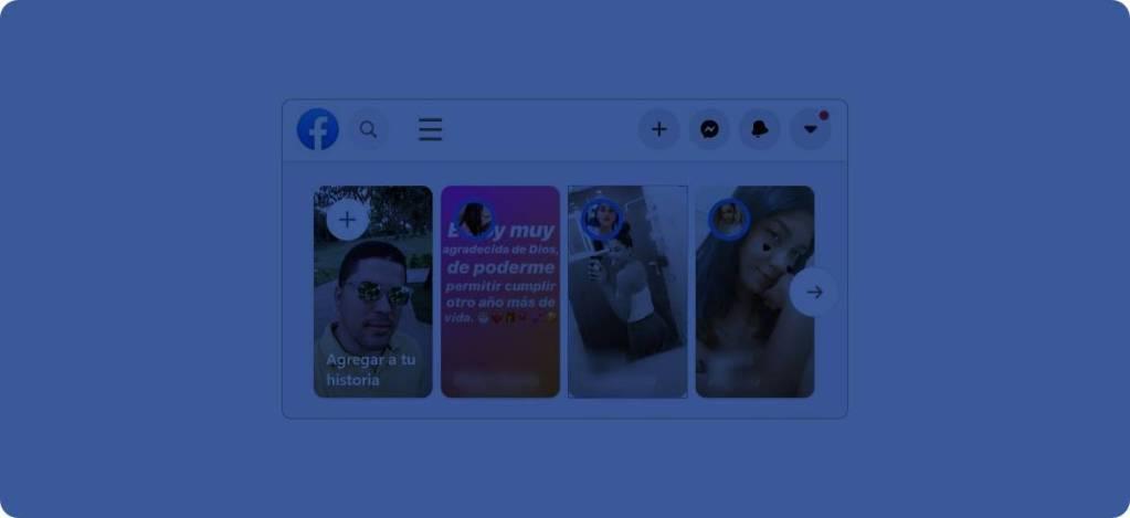 Silenciar y reactivar historias de Facebook