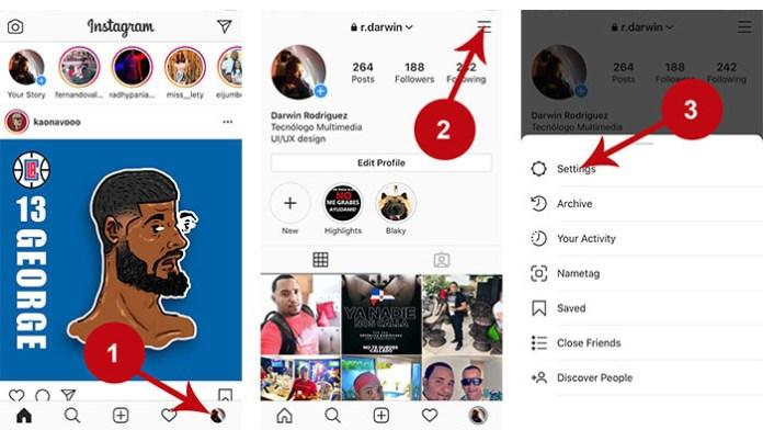 Cómo poner tu Instagram modo privado