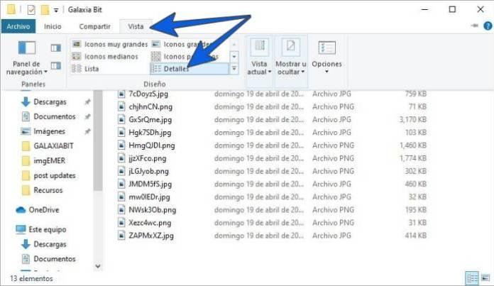 Cambiar el nombre de varios archivos uno por uno.