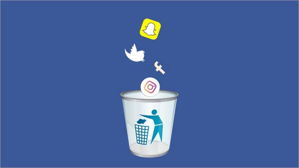 Beneficios de dejar o desconectarse de las redes sociales.