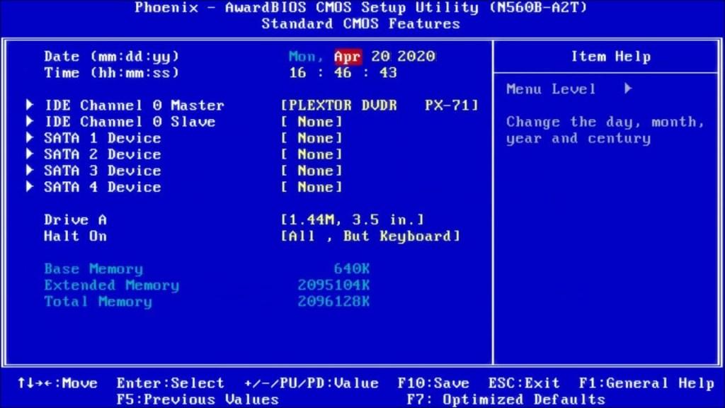 Cómo entrar en la BIOS en Windows 10