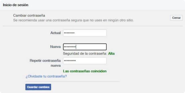 Proteger tu cuenta de Facebook de ser hackeada