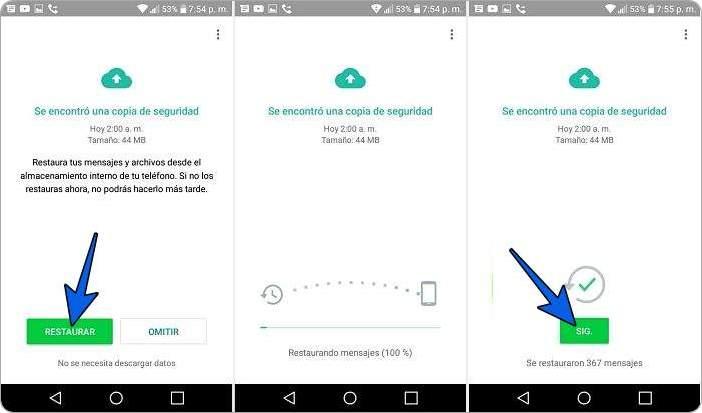 Cómo recuperar mensajes de WhatsApp eliminados sin copia de seguridad