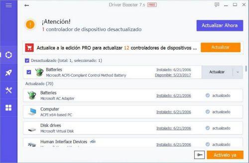 Driver Booster es el mejor programa para actualizar controladores en WIndows