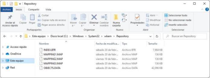 Reparar el repositorio WMI en Windows 10