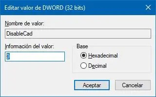 Activar o desactivar el inicio de sesión seguro en el Registro de Windows 10