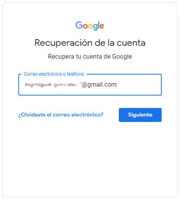 Me hackearon mi cuenta de Gmail