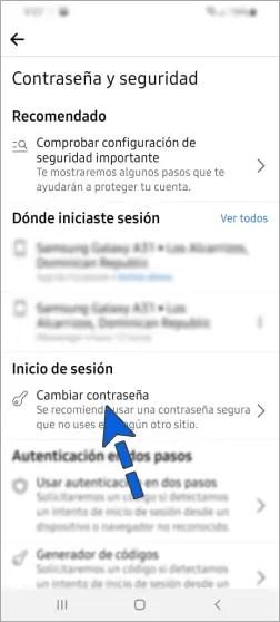 Cómo cambiar la contraseña de Facebook en el celular