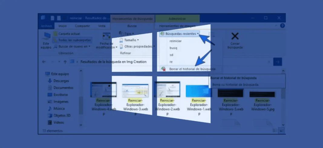 Explorador de archivos no responde Windows 10