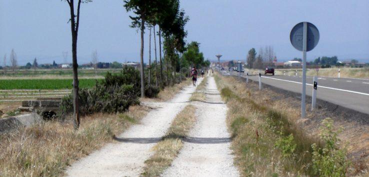 הדרך מ-León ל-San Martin del Camino.