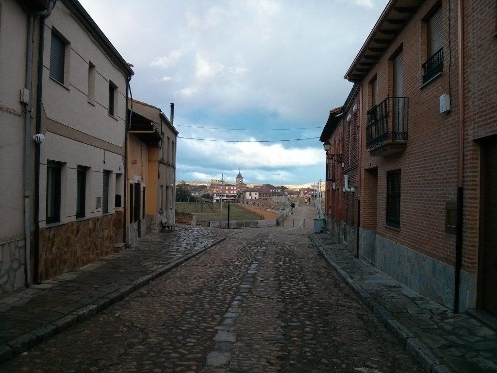 Hospital de Órbigo בדרך מ-San Martin del Camino ל-Murias de Rechivaldo.