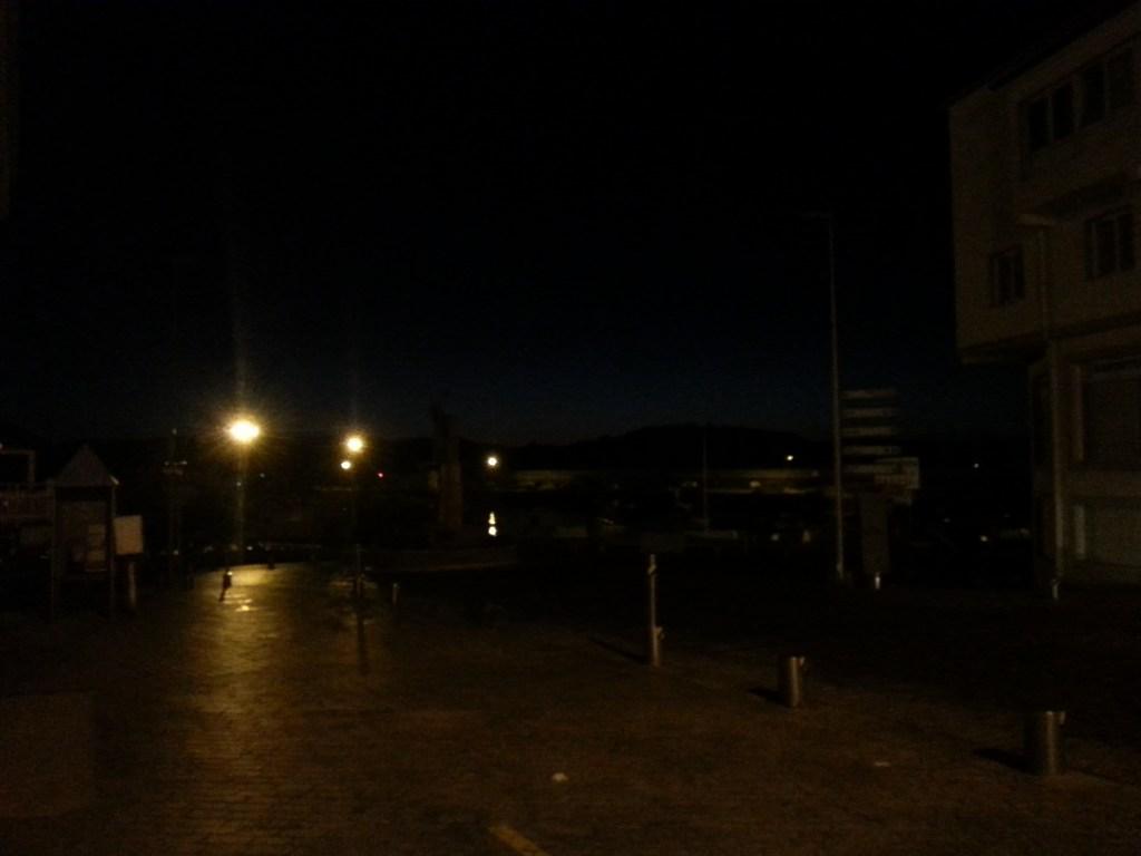 זאת כמות אור היום בשעה שמונה בבוקר...