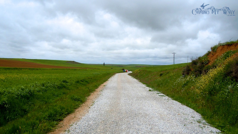 The Camino path (and gravel)