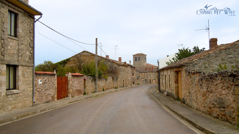 The bustling metropolis of Hornillos del Camino, pop. 70 -- Photo credit