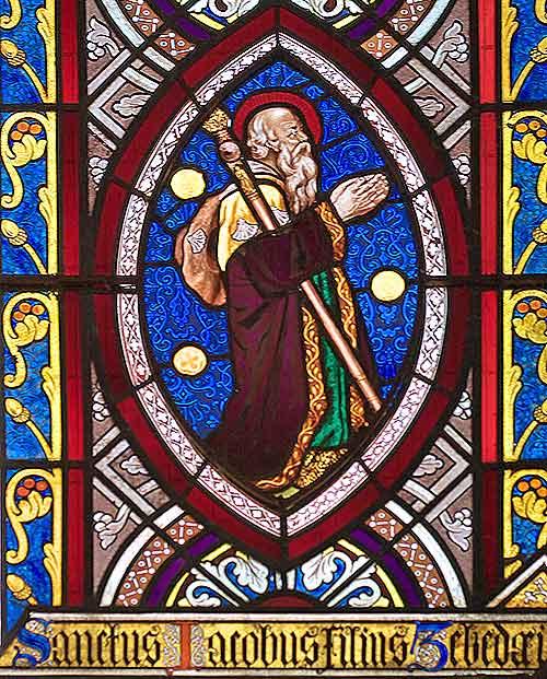 Santiago Jakobus in der Abteikirche Chetwodes