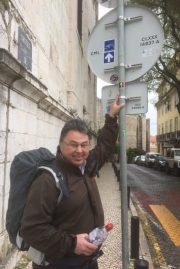 Så er vi klar til at vandre fra katedralen i Lissabon