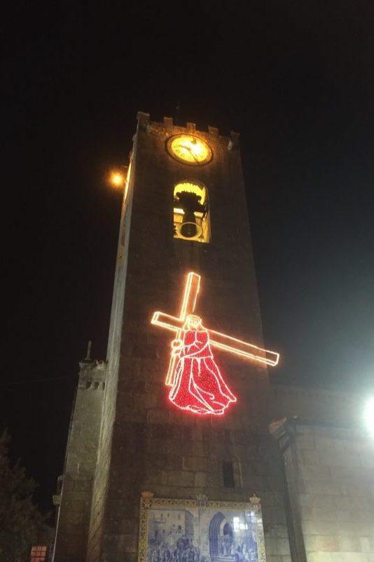 Endnu en påskeforberedelse i Ponte de Lima