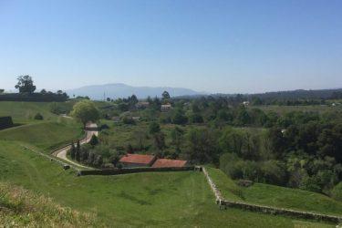 Smukt sceneri i Valença