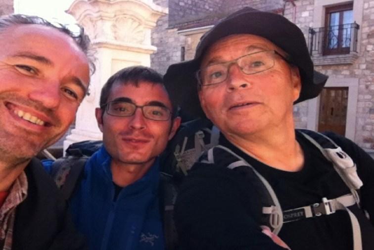 Dag 15 - Marco fra Italien og Peter Soler fra Andorra - god snak den dag