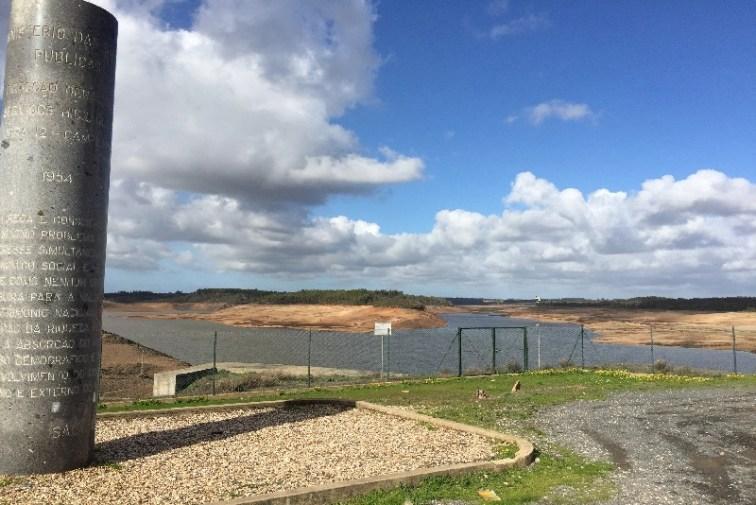 Dag 3 - Campilhas reservoir'et bygget i 1954 - lige så gammelt som jeg selv