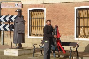 Dag 18 - Erwin på strækningen Fromista - Carrion De Los Condes, 20,5 km