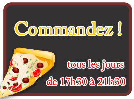 Commander une pizza !