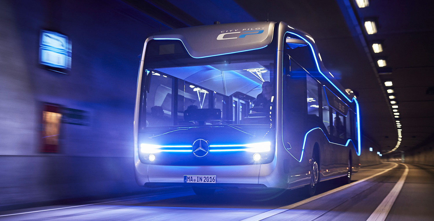 Future Bus de Mercedes-Benz