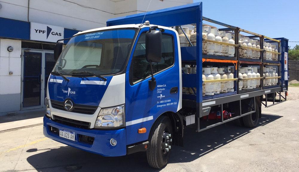 camiones Hino distribucion