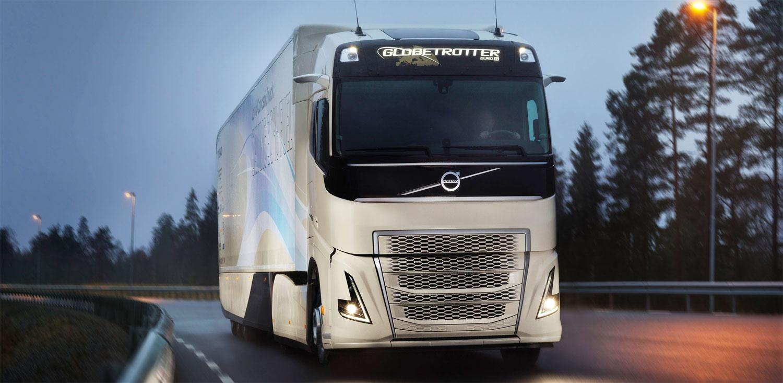 camión Volvo Concept Truck Híbrido