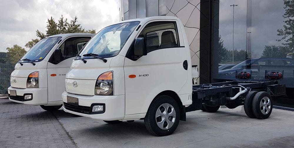 novedades de Hyundai h100