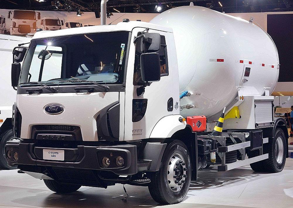 ford transporte de gas