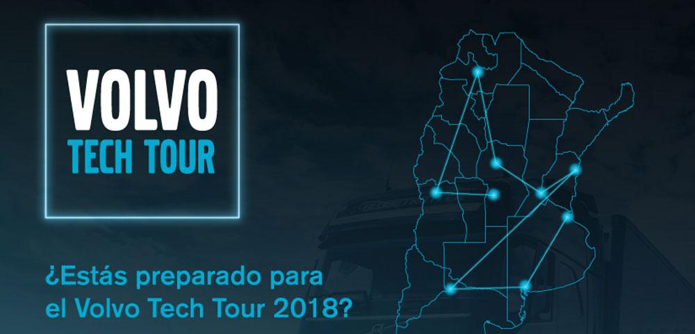 volvo tech tour