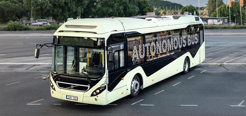 autonomo bus volvo